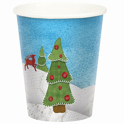 Sweater Weather Birthday Cups Package of 8