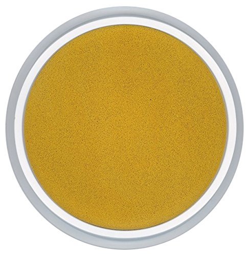 Center Enterprise CE6626 READY2LEARN Circular Washable Pad, Gold Jumbo Washable Circular Ink Pads