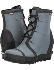 Sorel Womens Joan Rain Wedge Booties