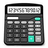 Splaks Basic Calculator Solar Battery Dual Power Large Display Deal