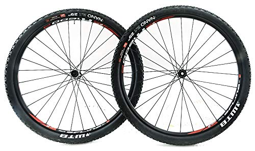 (DT Swiss X 1600 Spline 29er MTB Bike Wheelset XD Driver + Tires New)