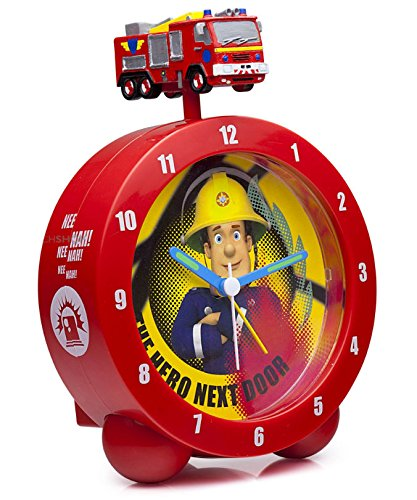 fireman-sam-the-hero-next-door-alarm-clock-jupiter-fire-engine-topped