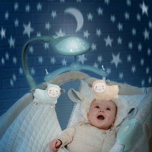 Ingenuity Moonlight Rocking Sleeper - Lullaby Lamb