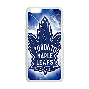 Shiny blue Toronto maple leafs Cell Phone Case for iPhone plus 6