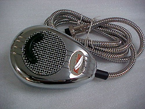 Redman Custom RK56 CHROME Metal Cord Mic Road King Cb Radio