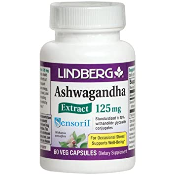 Amazon Com Lindberg Sensoril Ashwagandha Extract Vegetable Capsules