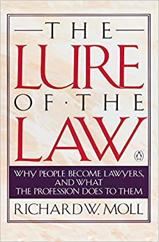Book Moll Richard : Lure of the Law