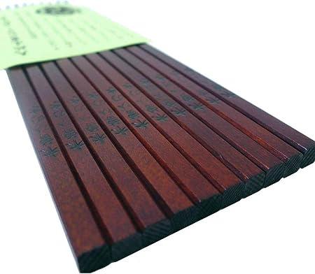 Luz Interna kiso-hinoki-chopsticks conjunto lacado madera un ...
