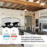 Granite Sealer & Protector - Best Stone Polish, Protectant & Care Product - Easy Maintenance for Clean Countertop Surface, Marble, Tile...