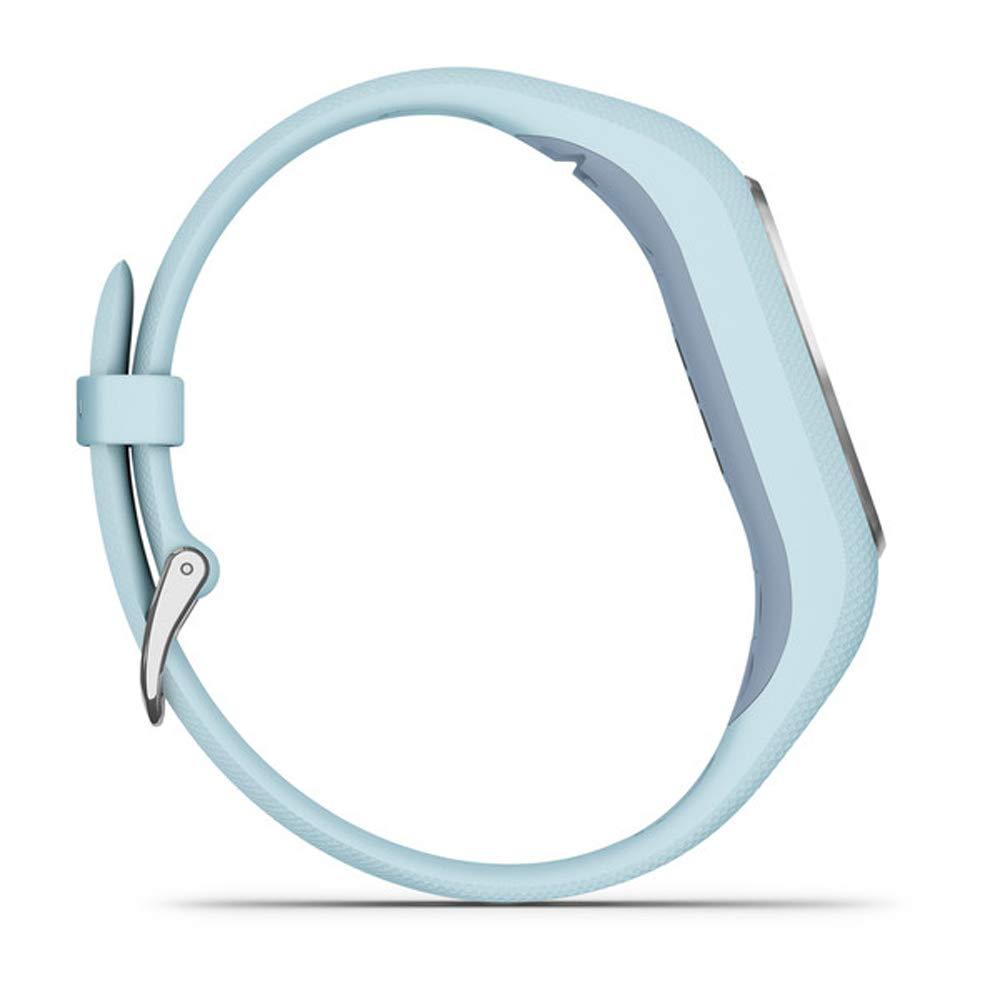 Garmin Vivosmart 4 Azure Blue with Silver Hardware (S/M) (010-01995-14) with Deco Gear 7-Piece Fitness Kit by Garmin (Image #6)