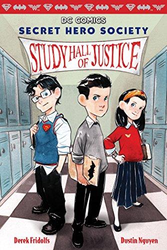 Dc Comics Heroes - Study Hall of Justice (DC Comics: Secret Hero Society #1)