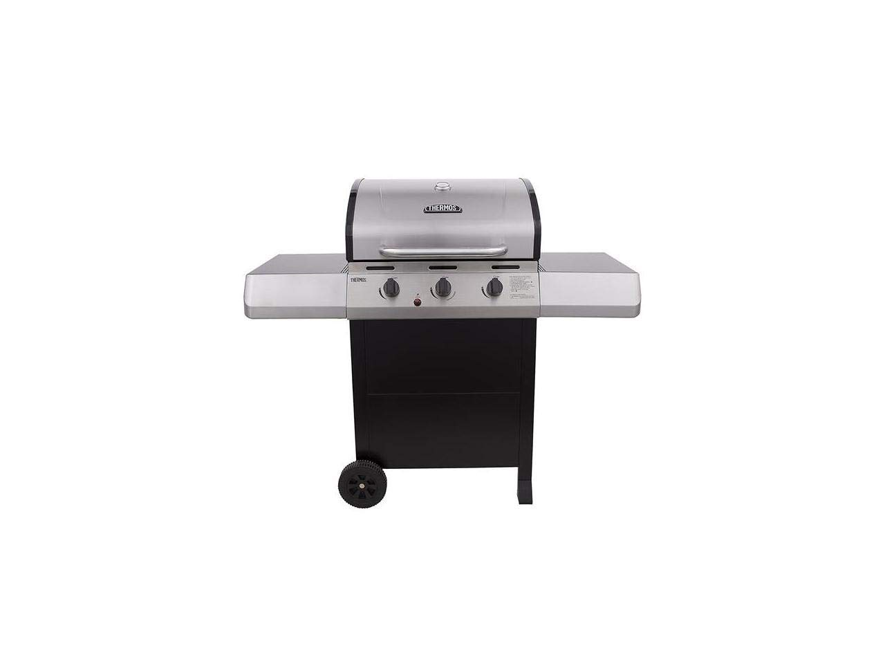 Char-Broil 461375519 3-Burner Propane Gas Grill, Silver by Char-Broil