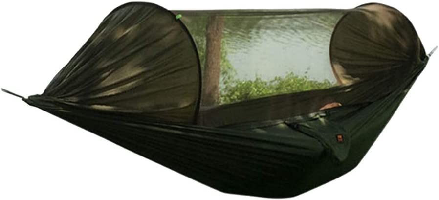SM SunniMix Tienda de Campa/ña Colgante Hamaca de /Árbol con Mosquitera Tranpsirable Resistente para Viaje al Aire Libre