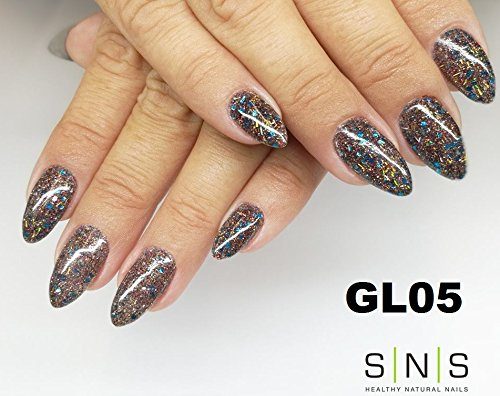 SNS Nail Dipping Powder Gelous Color Kits - Holiday Collection 1 - FREE Mina Dip Gel Base, Gel Top and Activator by SNS (Image #3)