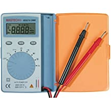 Mastech MS8216 Super Slim Pocket Size Auto Range Digital Multimeter AC/DC Voltage Caps. Freq. and Resistor Checking