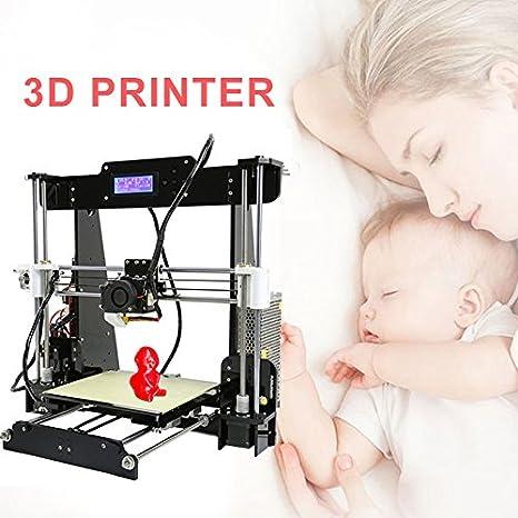 Hongfei Impresora 3D Alta Precisión RepRap with Anet A8 Prusa I3 ...
