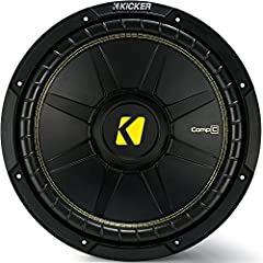 """8"""" CompC 4-Ohm DVC The dual-voice-coil CompC subwoofers make wiring easy with a pair of spring-loaded terminals for easy optimizing of a CX-Series Amplifier. Big power and big bass are easy to get. Features Dual four-ohm voice coil Injection-..."""