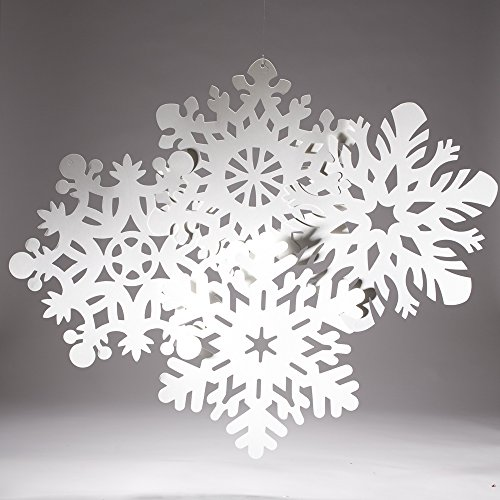 Snowflakes Pack (Snowflake Cutouts-Pack of 4 (14-14.5 inches))