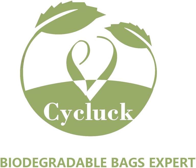 Cycluck 120 Bolsas 10L Bolsa de Basura ecológica 100 ...