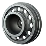 1992-1995 VMS Racing Light Weight Billet Aluminum Crankshaft CRANK PULLEY for HONDA CIVIC 1.5L 1.6L SOHC D15 and D16 Engines ONLY EG EJ OEM SIZE (uses same OEM belts)