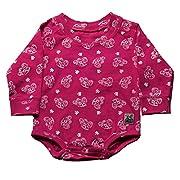 Case IH Baby Girl's Printed Onesie, Magenta, Size 24M