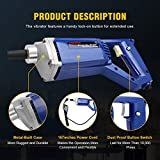 BEAMNOVA Electric Concrete Vibrator Hand Held 13000 VPM 4.9 Feet Shaft