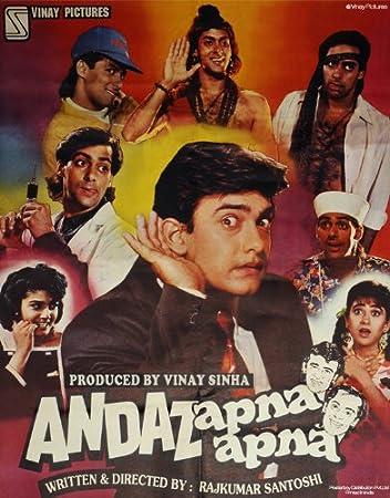 Image result for andaz apna apna posters