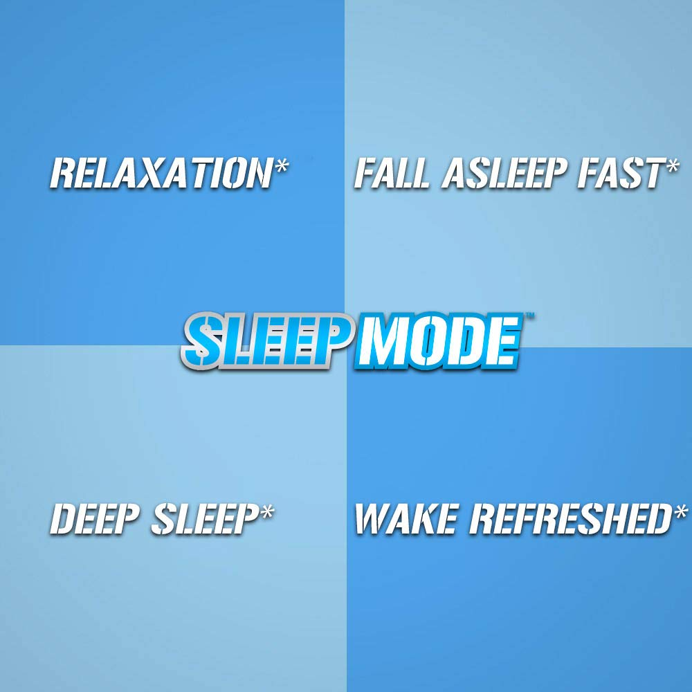 Evlution Nutrition Sleep Mode, Fall Asleep Faster, Melatonin, GABA,  Valerian Root & More, Natural Aid for