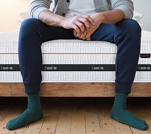 home, kitchen, furniture, bedroom furniture, mattresses, box springs,  mattresses 4 picture Twin Mattress, Coolvie 11 Inch Innerspring Mattress, Hybrid deals