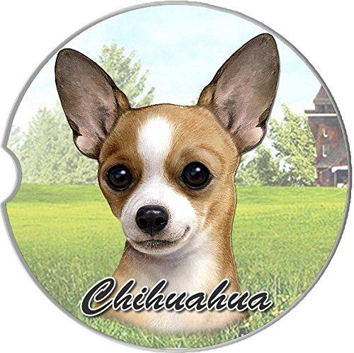 Occasion Coasters (E&S Pets Tan Chihuahua Coaster, 3
