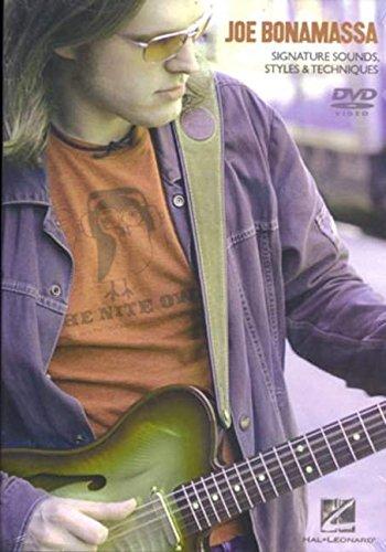 Joe Bonamassa-Sounds Styles [Import anglais] Omnibus Press Guitar Music & Dance String instruments