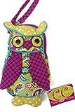 Douglas Toys Picadilly Owl Sillo-ette Plush Wristlet