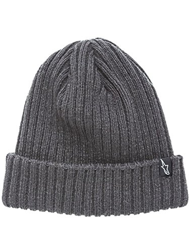 Alpinestars Charcoal Receiving Beanie (Default, (Alpinestars Skull Cap)