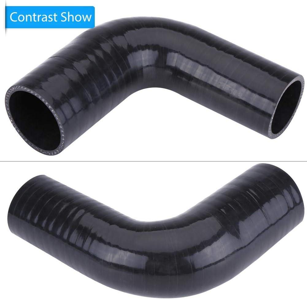 Fydun Caucho de silicona manguera EGR de intercooler de silicona TDCi Turbo Boost Pipe para Focus 1.8 MK2 C-MAX 1496238
