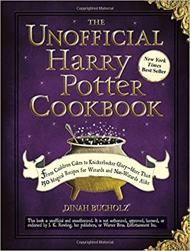 Image result for The unofficial harry potter cookbook cover