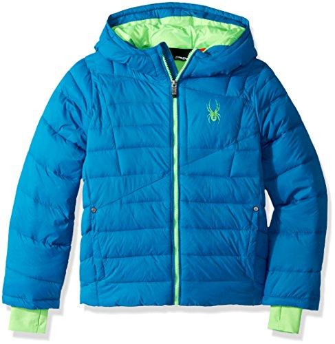 Spyder Boys' Big Upside Down Jacket, Concept Blue, S