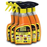 Goo Gone Adhesive Remover Original Spray Gel (6 Pack) - Removes Chewing Gum, Grease, Tar, Stickers, Labels, Tape Residue, Oil, Blood, Lipstick, Mascara, Shoe Polish, Crayon - 12 Ounce