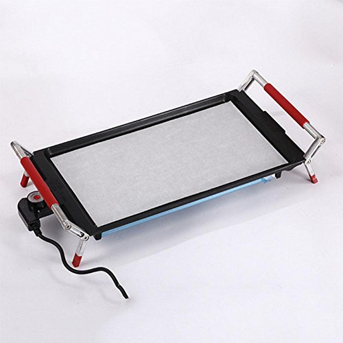 YFK50 * 28 * 11.5CM elettrico di tostatura dell'acciaio inossidabile senza potere di 1200 potenza