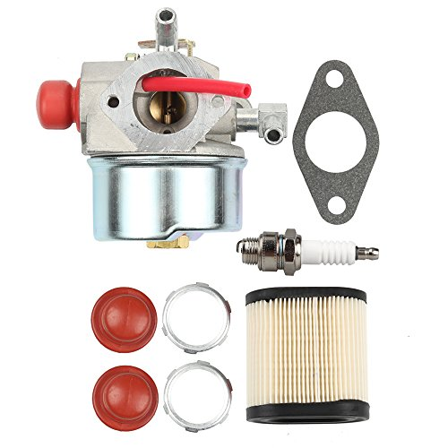 Butom 640271 640303 640350 Carburetor with 36905 Air Filter Spark Plug for TECUMSEH LEV100 LEV105 LEV120 LV195EA LV195XA Toro 20016 20017 20018 6.75HP Recycler Lawn Mower Lawn Mower