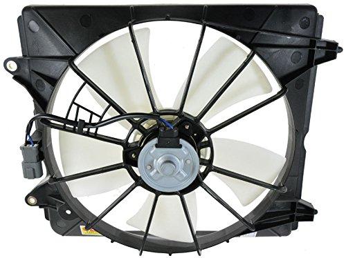 Radiator Cooling Fan & Motor Driver Left LH for 07-09 CR-V (Side Motor Cooling Radiator Fan)