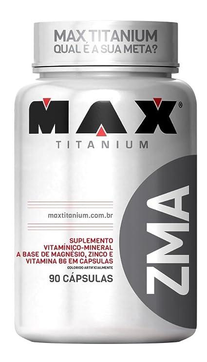 ZMA - 90 CAPS. - MAX TITANIUM - VITAMINES Y MINERALES