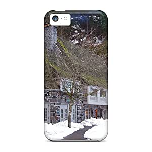 BeverlyVargo Cases Covers For Iphone 5c - Retailer Packaging Winter Lodge Protective Cases