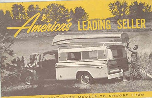 1966 1967 1968 Jeep Chevrolet Dodge Ford Winnebago Truck Camper Brochure by Jeep