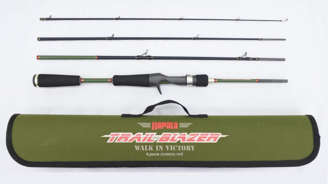 ラパラ(Rapala) トレイルブレイザー 4ピース パックロッド TBC644LF Trail Blazer Rod TBC644LF