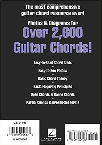 Picture Chord Encyclopedia: Photos & Diagrams for Over 2,600 Guitar ...
