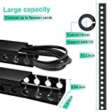 Updated Cable Raceway Kit, 73 (5x14.6) inch Open