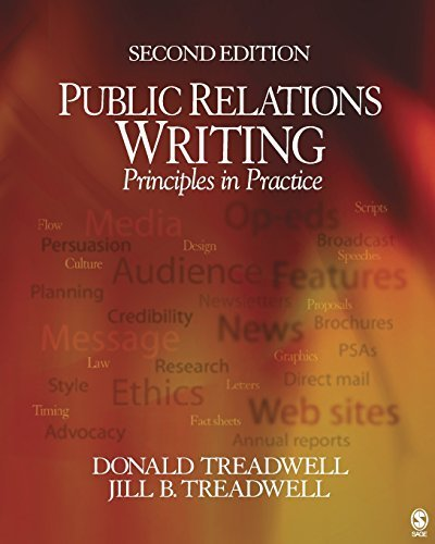 Public Relations Writing: Principles in Practice by Donald F. Treadwell (2005-04-19)