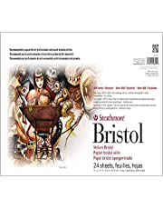 Strathmore (580-42) 500 Series Sequential Art Bristol, 2-Ply Vellum Surface, 24 Sheets