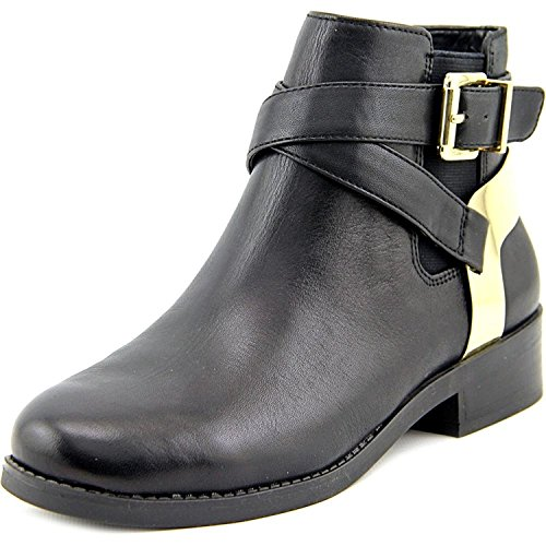 BCBGeneration Womens KREW Almond Toe Ankle Fashion Boots, Black Culata, Size 5.5