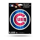 """Rico Industries, Inc. Chicago Cubs Rico 5"""" METALLIC DECAL Die Cut Auto Sticker Emblem Baseball"""